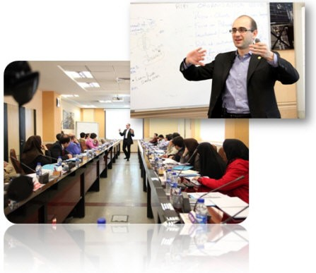 110215 lecturing in tehran