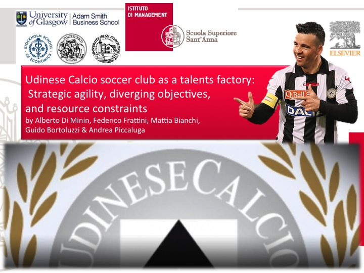 Not only Di Natale Goals, but also very good financial and consisting sportive results. The secrets of strategic agility in Udinese Calcio explored.